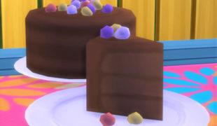 Мод для Симс 4: пасхальный торт