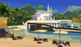 Мод для Симс 4: семейная люкс яхта
