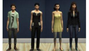 Мод для Симс 4: рост подростков уменьшен