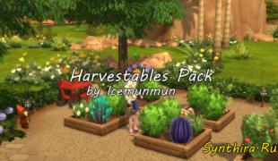Мод для Симс 4: сбор урожая