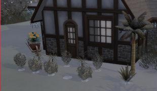 Мод для Симс 4: садоводство круглый год!