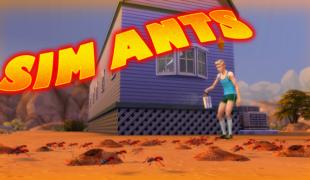 Мод для Симс 4: муравьи