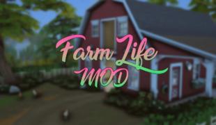 Мод для Симс 4: жизнь фермера