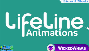 The Sims 4 мод: Lifeline Animations for WickedWhims