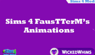 The Sims 4 мод: FausTTerM's Animations