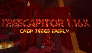 Моды на майнкрафт 1.16 5 treecapitator