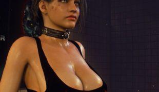 """Resident Evil 3 """"Джилл дикая школьница"""""""