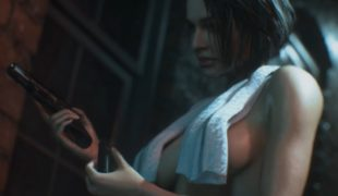 "Resident Evil 3 ""Джилл в полотенце и трусиках"""