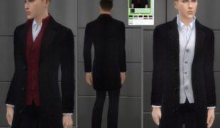Симс 4 мужской костюм