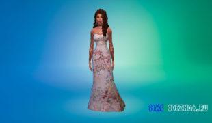 Симс 4 Вечерние платья