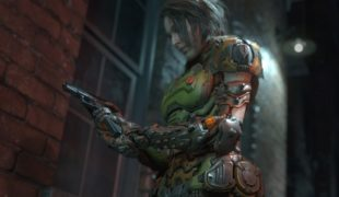 "Resident Evil 3 ""Джилл в броне Палача Рока из Дума"""