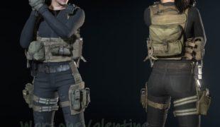 "Resident Evil 3 ""Джилл Валентайн из COD:Warzone"""
