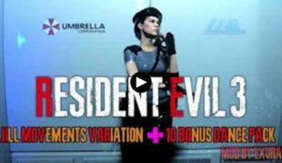 """Resident Evil 3 """"Новые движения для Джилл"""""""